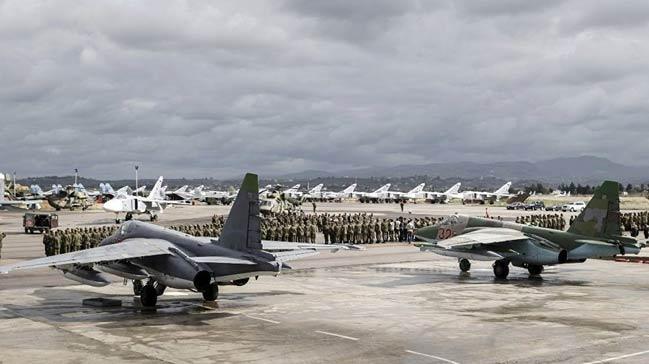 Rusya: Hmeymim ve Tartusa yönelik saldırı sırasında, ABD casus uçağı iki üs arasında uçuyordu 60