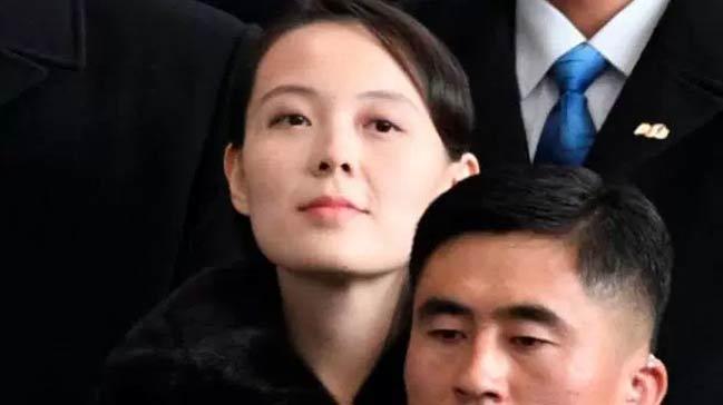 Kuzey+Kore+liderinin+k%C4%B1z+karde%C5%9Fi+Kim+Yo-jong+G%C3%BCney+Kore%E2%80%99de