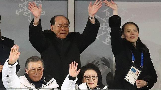 Japon+ve+Kuzey+Koreli+heyet+G%C3%BCney+Kore%E2%80%99de