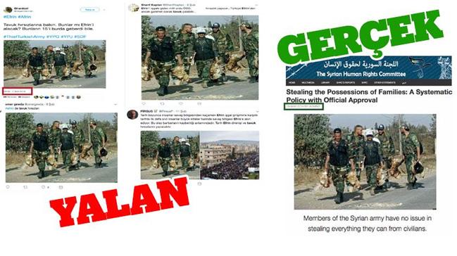 PYD/PKK+destek%C3%A7ileri,+Esed+askerlerinin+h%C4%B1rs%C4%B1zl%C4%B1%C4%9F%C4%B1n%C4%B1+TSK%E2%80%99ya+mal+etmeye+%C3%A7al%C4%B1%C5%9Ft%C4%B1
