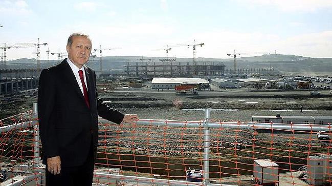 Yeni havalimanı Cumhurbaşkanı Erdoğan ile ilgili görsel sonucu