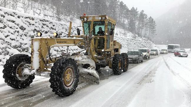 Zonguldak%E2%80%99ta+68+k%C3%B6y+yolu+kardan+kapand%C4%B1