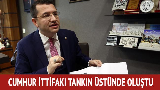 Mehmet Parsak: Cumhur ittifakı tankın üzerinde oluştu