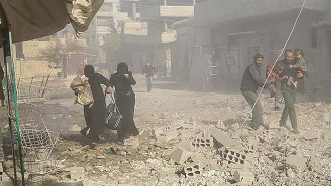 Suriye%E2%80%99de+ba%C5%9Flayan+i%C3%A7+sava%C5%9F+7.+y%C4%B1l%C4%B1n%C4%B1+doldurdu