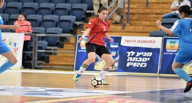 K%C4%B1z+Futsal+Milli+Tak%C4%B1m%C4%B1+d%C3%BCnya+ikincisi+oldu