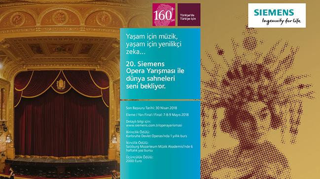 20 yıldır sanata değer katan siemens opera yarışması için son