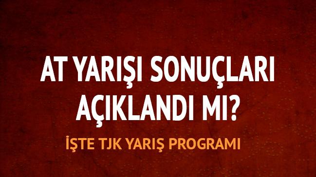 19 Nisan 2018 Ankara İzmir at yarışı altılı ganyan sonuçları TJK At yarışı sonuçları programı