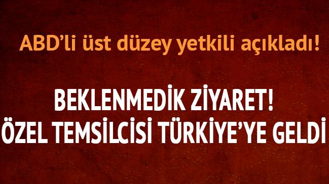 Beklenmedik ziyaret! Türkiye'ye geldi...