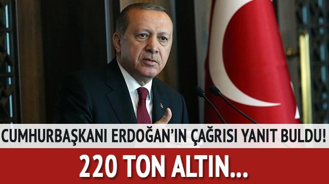 Cumhurbaşkanı Erdoğan'ın çağrısı yanıt buldu!