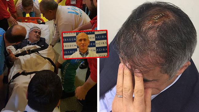 Şenol Güneş'e müdahale eden doktor konuştu: Saçlı deri içinde kan vardı