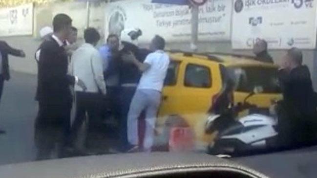İstinye'de taksicinin fazla para istediği iddiası ortalığı karıştırdı: Senin canını alırım