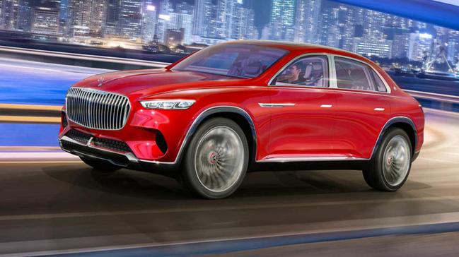 Mercedes'in en lüks elektrikli SUV'u tanıtıldı