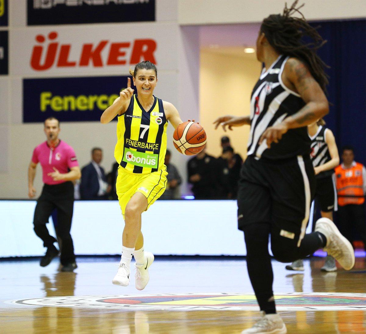 Fenerbahçe 34 sayı farkla kazandı 1-0 öne geçti