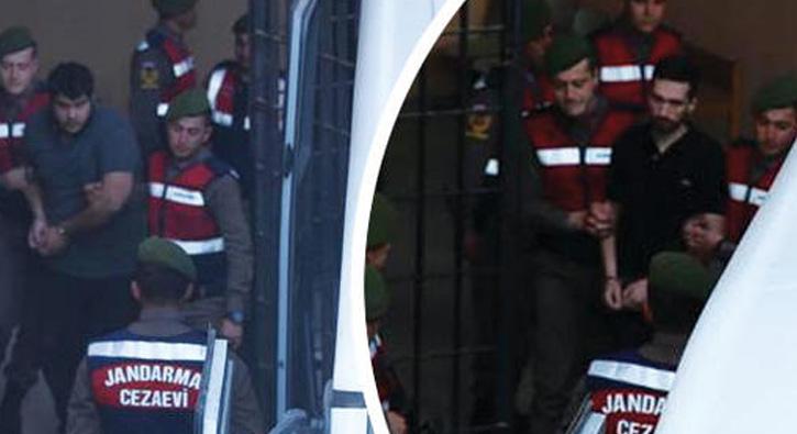 2 Yunan asker için karar verildi... İlk kez görüntülendiler