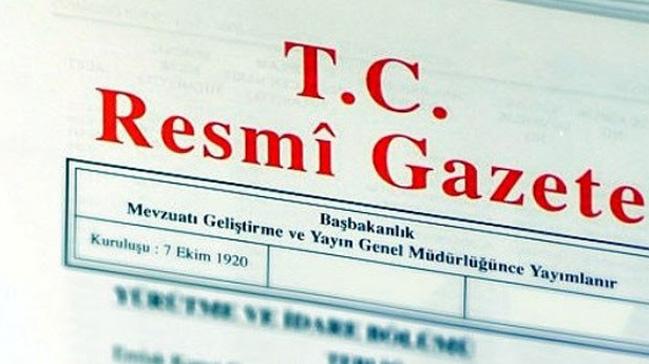 'Anayasa değişiklik uyum paketi'  Resmi Gazete'de