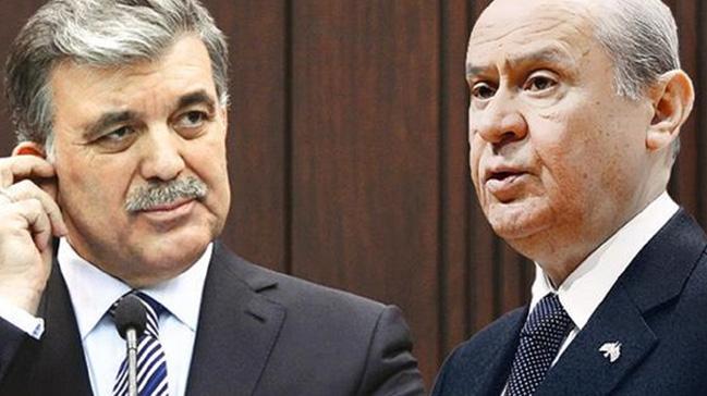 Bahçeli'den Abdullah Gül'e uyarı: İkazlara uyması lazım