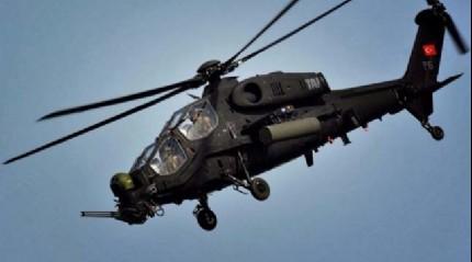 Yerli Helikopter ATAK'tan nefes kesen gösteri