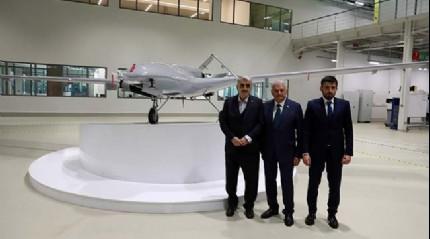 Başbakan Yıldırım, İHA üretiminin yapıldığı Baykar Makina tesislerini ziyaret etti