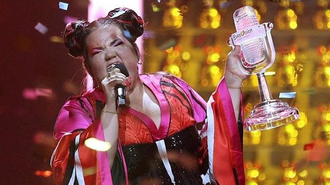eurovision Şarkı yarışması nı İsrail kazandı haberler son dakika
