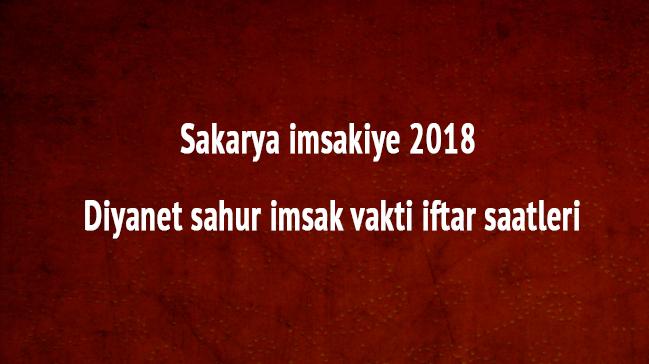 Sakarya+imsakiye+2018+Diyanet+sahur+imsak+vakti+iftar+saatleri