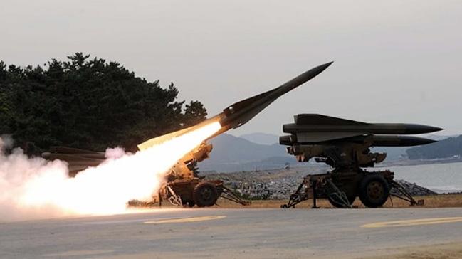 İstanbul Şile'de yüksek irtifa hava savunma sistemi test edildi