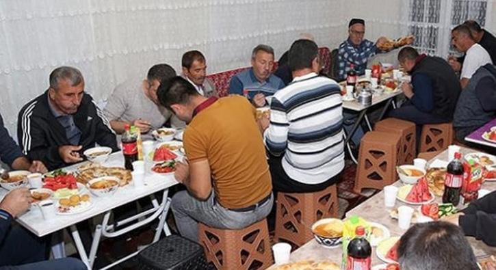 Ahýska Türkleri öz vatanlarýnda ilk iftarlarýný yaptý