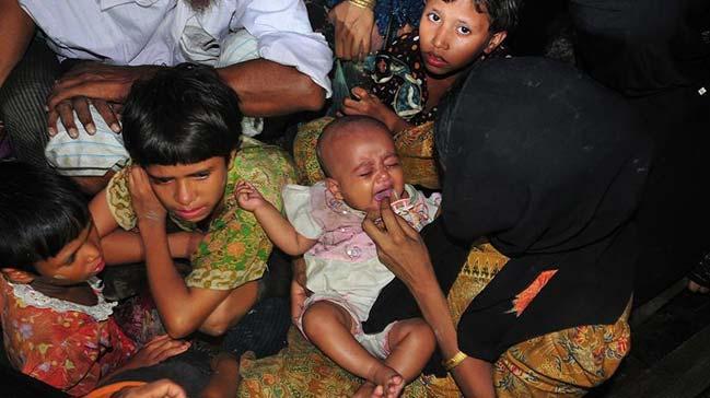 Banglade%C5%9F%E2%80%99teki+kamplarda+g%C3%BCnde+60+Arakanl%C4%B1+bebek+do%C4%9Fuyor