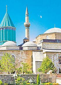 Gez dünyayı, gör Konya'yı