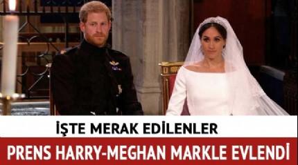 Prens Harry Meghan Markle evlendi! Meghan Markle kimdir?