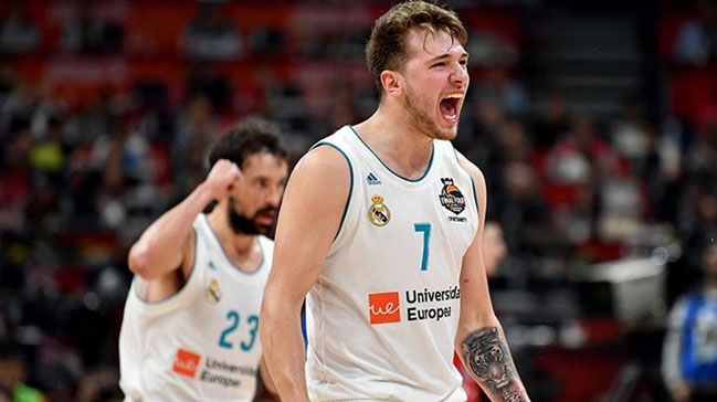 EuroLeague'de sezonun MVP'si Luka Doncic