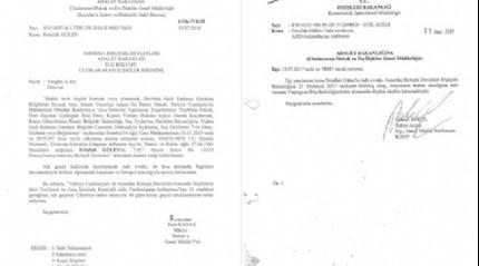 Teröristbaşı Gülen'in iade belgeleri ortaya çıktı