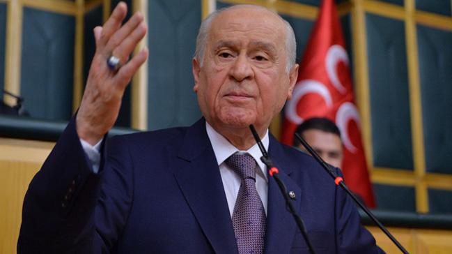 MHP Genel Başkanı Bahçeli: 2001'de hedef Ecevit'ti şimdi de Erdoğan hedef alınıyor