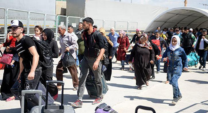 Suriyeliler+bayram+i%C3%A7in+%C3%BClkelerine+gidiyor++