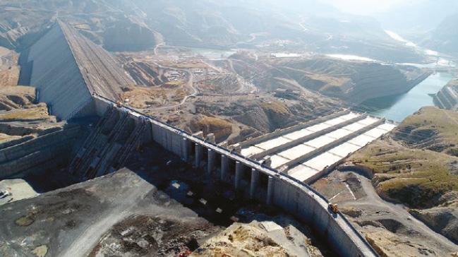 Ilısu Barajı'nda bu yıl içinde su tutulmaya başlanacak