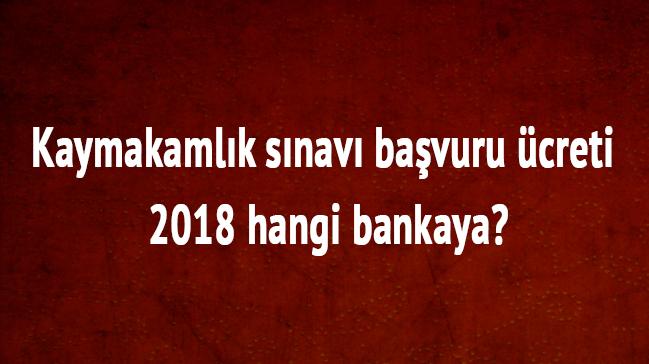 2018+Kaymakaml%C4%B1k+s%C4%B1nav%C4%B1+ba%C5%9Fvuru+%C3%BCcreti+ne+kadar+Kaymakaml%C4%B1k+s%C4%B1nav%C4%B1+%C3%BCcreti+hangi+bankaya+yatacak