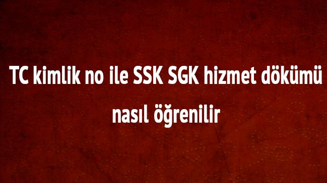 SGK+SSK+hizmet+d%C3%B6k%C3%BCm%C3%BC+E-devlet+giri%C5%9F++TC+kimlik+no+ile+SGK+SSK+hizmet+d%C3%B6k%C3%BCm%C3%BC+sorgulama+