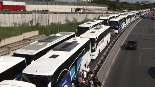 İstanbul'a dönüş biletleri de tükendi
