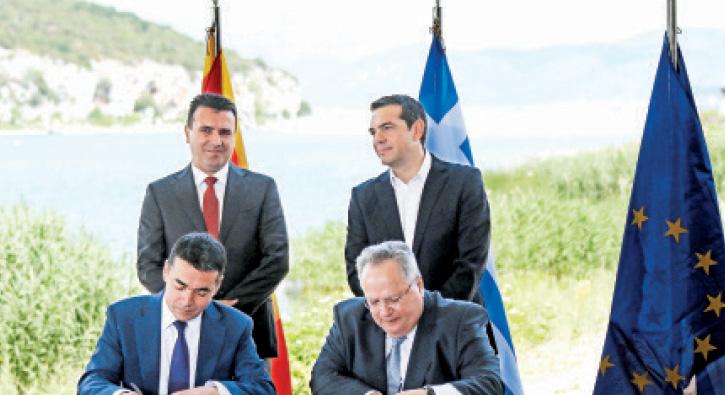 'Kuzey Makedonya anlaşması tamam'