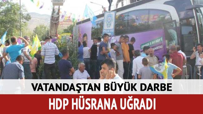 HDP'ye vatandaş tokadı