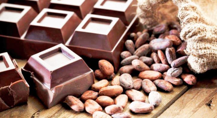 Harika cilt için bitter çikolata