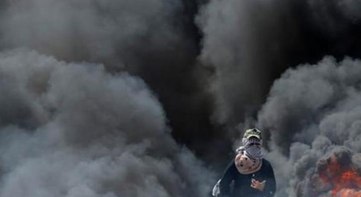 İsrail ordusu Gazze'nin güneyinde bir gözetleme merkezi ile tarım arazisini bombaladı