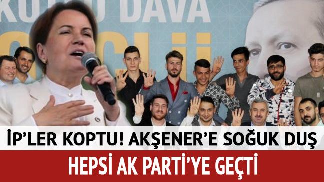 İP'den istifa eden 40 kişi AK Parti'ye geçti