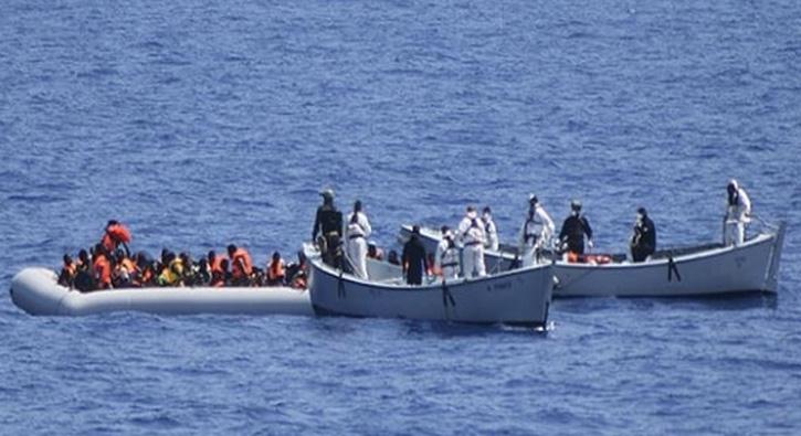 Libya açıklarında 82 göçmen kurtarıldı
