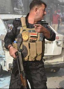 Bağdat'ta Haşdi Şabi polisle çatıştı