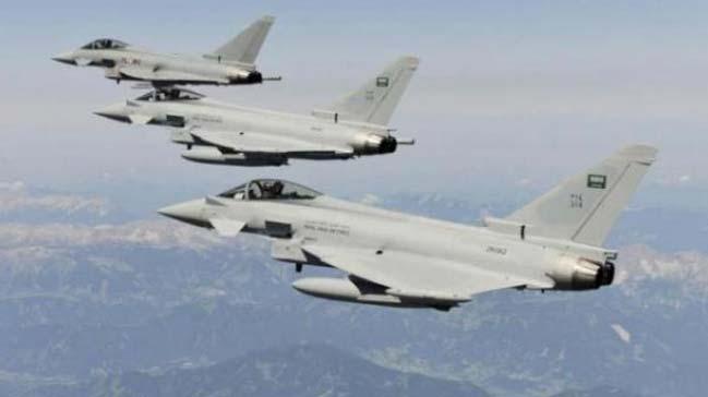 Arap Koalisyonu, Husi mevzilerine bomba yağdırıyor
