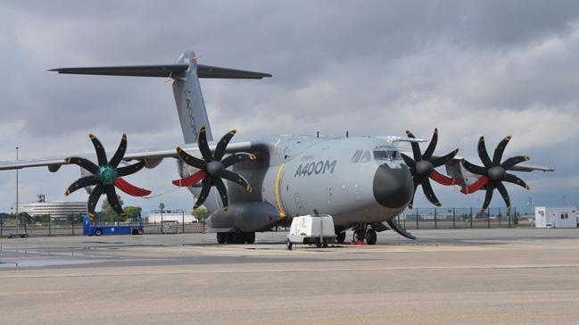 A400M uçağının altıncısı Türk Hava Kuvvetlerine teslim edildi