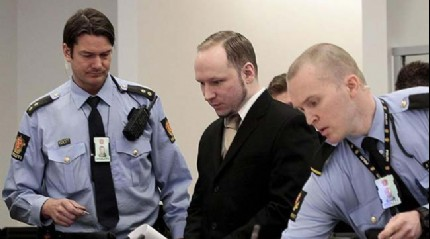 AİHM, Breivik'in başvurusunu reddetti