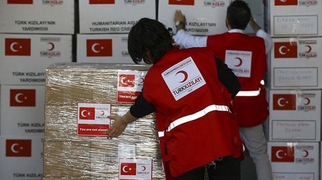 Türk Kızılayı 46 ülkede yaraları sardı