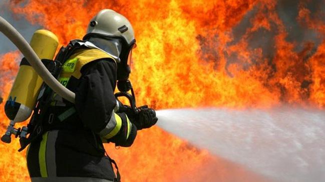 Kastamonu'da bir evde yangın çıktı