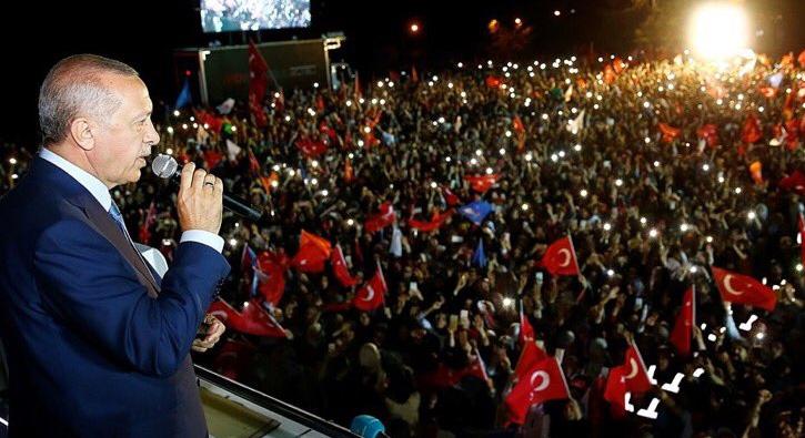 Amerikan medyası: Erdoğan zaferini ilan etti
